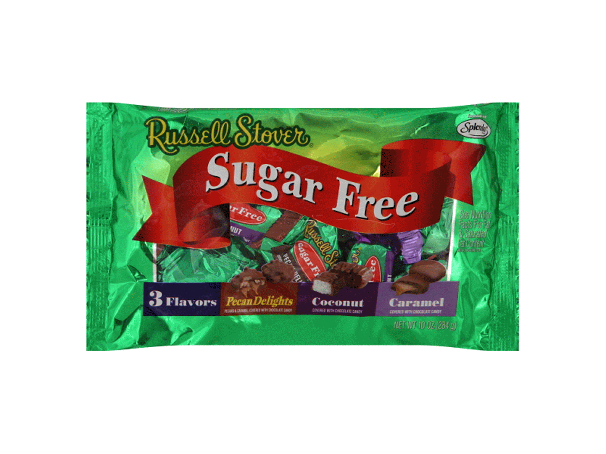 russell stover 10 oz sugar free multi flavor chocolate candies