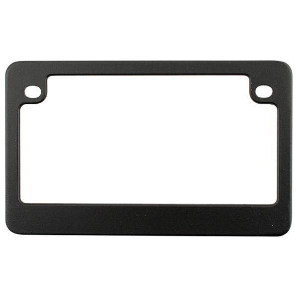 Custom Frames Dealer Frame Matte Black Motorcycle License Plate ...