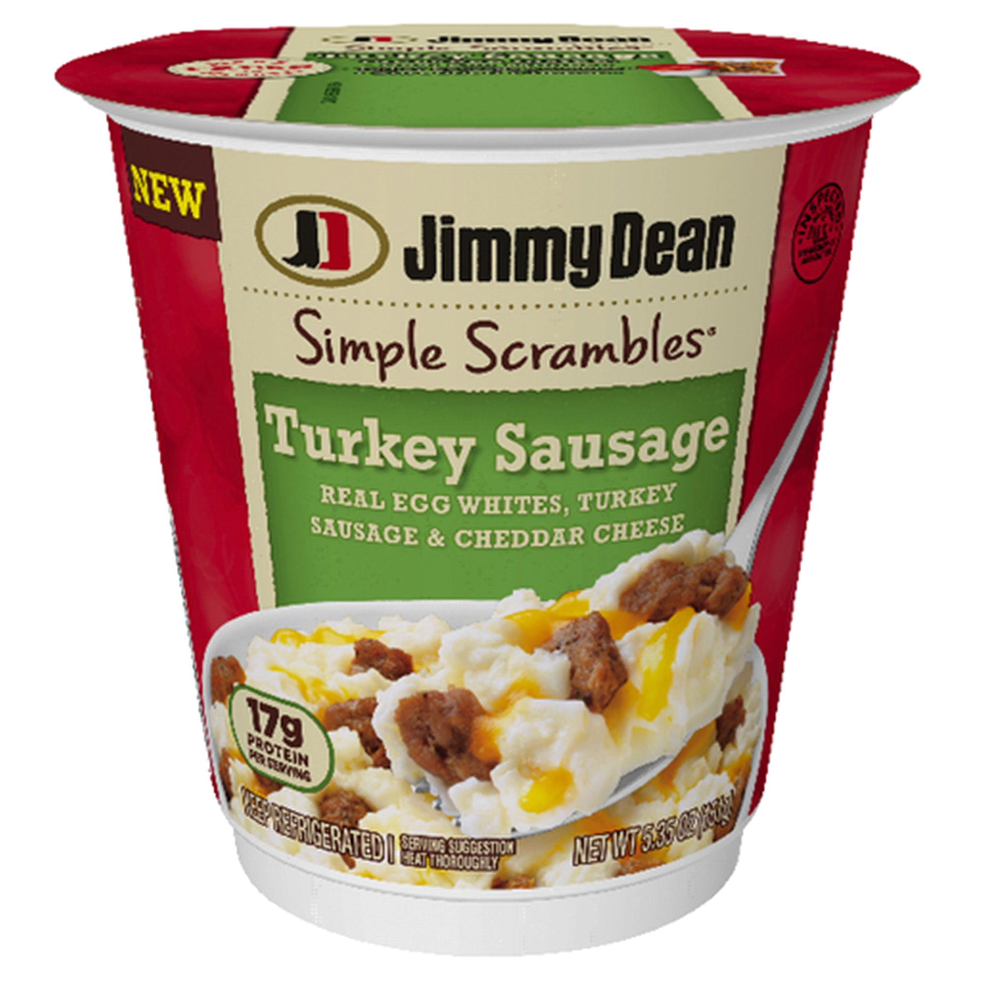 Jimmy Dean Simple Scrambles® Turkey Sausage Breakfast Cup 5.35 oz ...
