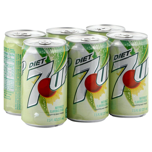 7 Up Diet Soda 75 Oz 6 Pk Meijer