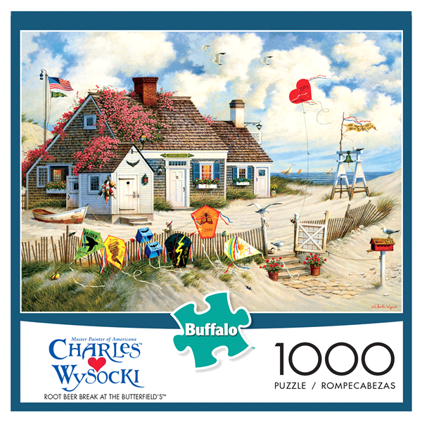 c15c62a0a6f5e Buffalo Games Charles Wysocki 1000 Piece Jigsaw Puzzle Assorted Items