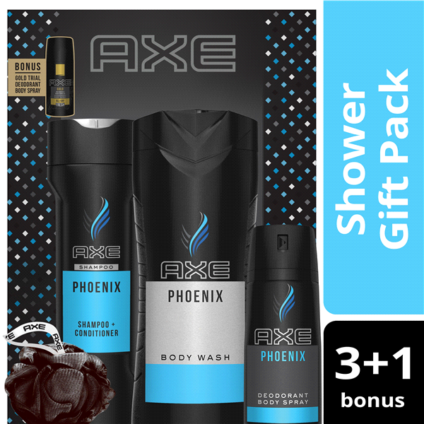 cf6bde1c502 Axe Phoenix Shower Gift Set with Bonus Items 6 pc   Meijer.com