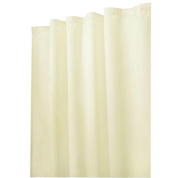 InterDesign Water Repellent Fabric Shower Curtain 72x72 Sand