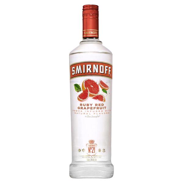 dd5aa544a1 Smirnoff Ruby Red Grapefruit 750 mL (70 PF)
