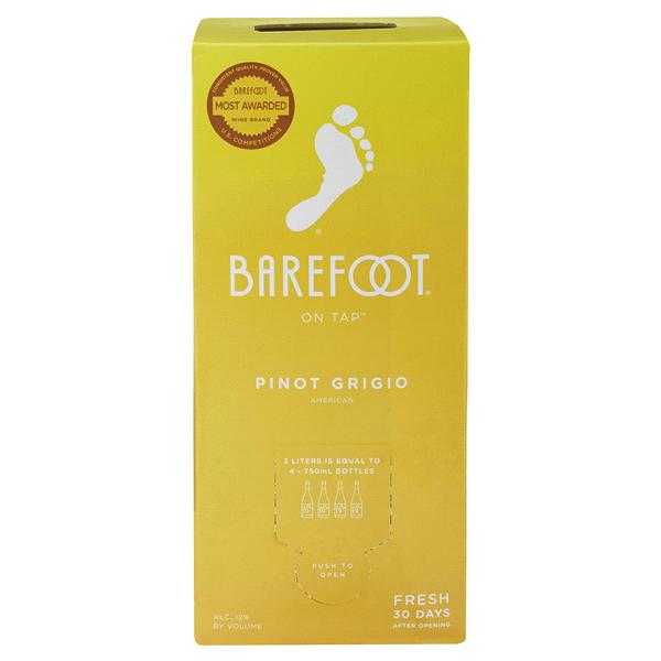Barefoot Pinot Grigio White Wine 3.0LT Box  ca3b3cfe5873