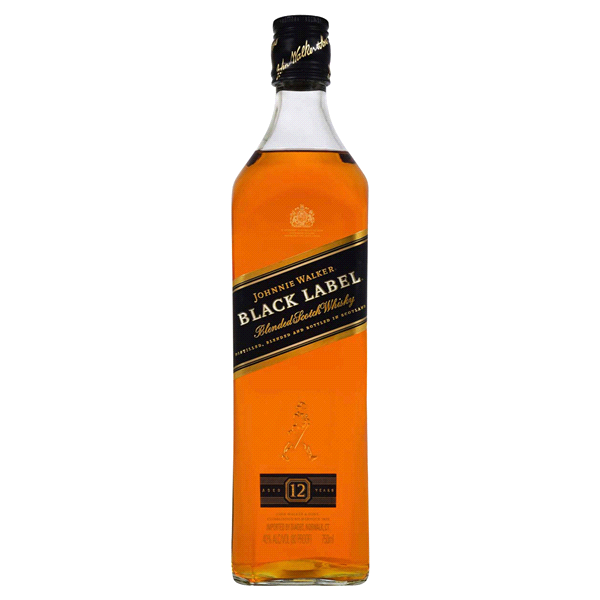 Johnnie Walker Black Label Blended Scotch Whisky 750 Ml 80 Pf