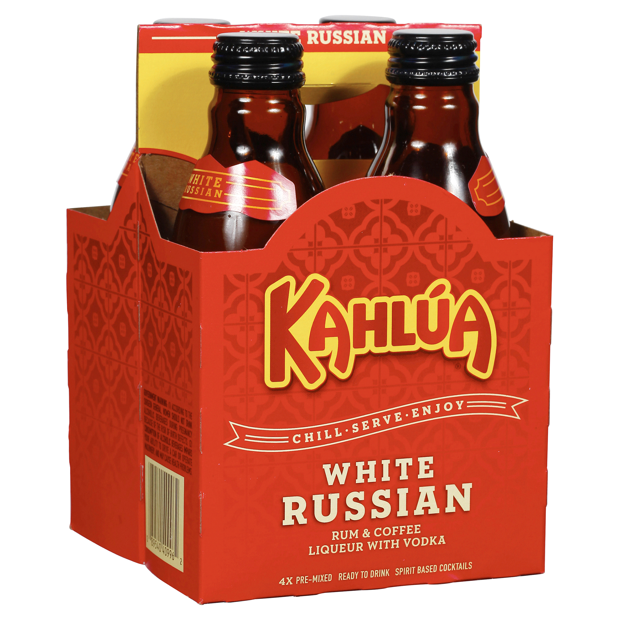 Kahlua Mixed Cocktail White Russian 200 Ml 4 Pk Mix Your Using A Keyboard