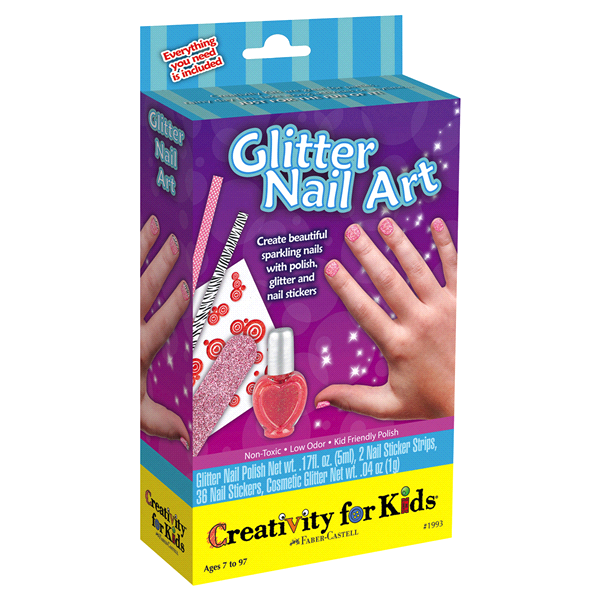 Creativity for Kids Glitter Nail Art Mini Kit | Meijer.com