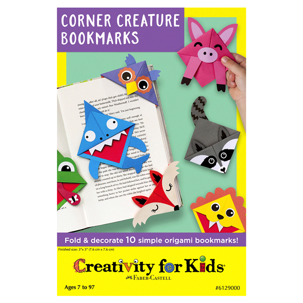 Creativity For Kids Corner Creature Bookmarks Meijer