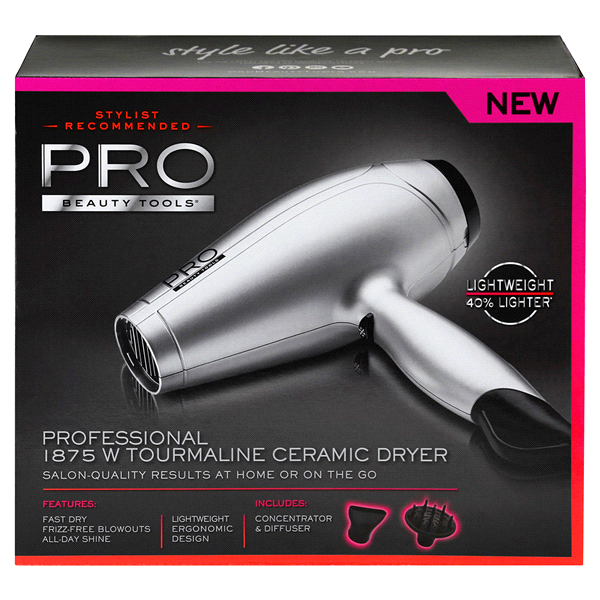 Pro beauty tools professional hair dryer