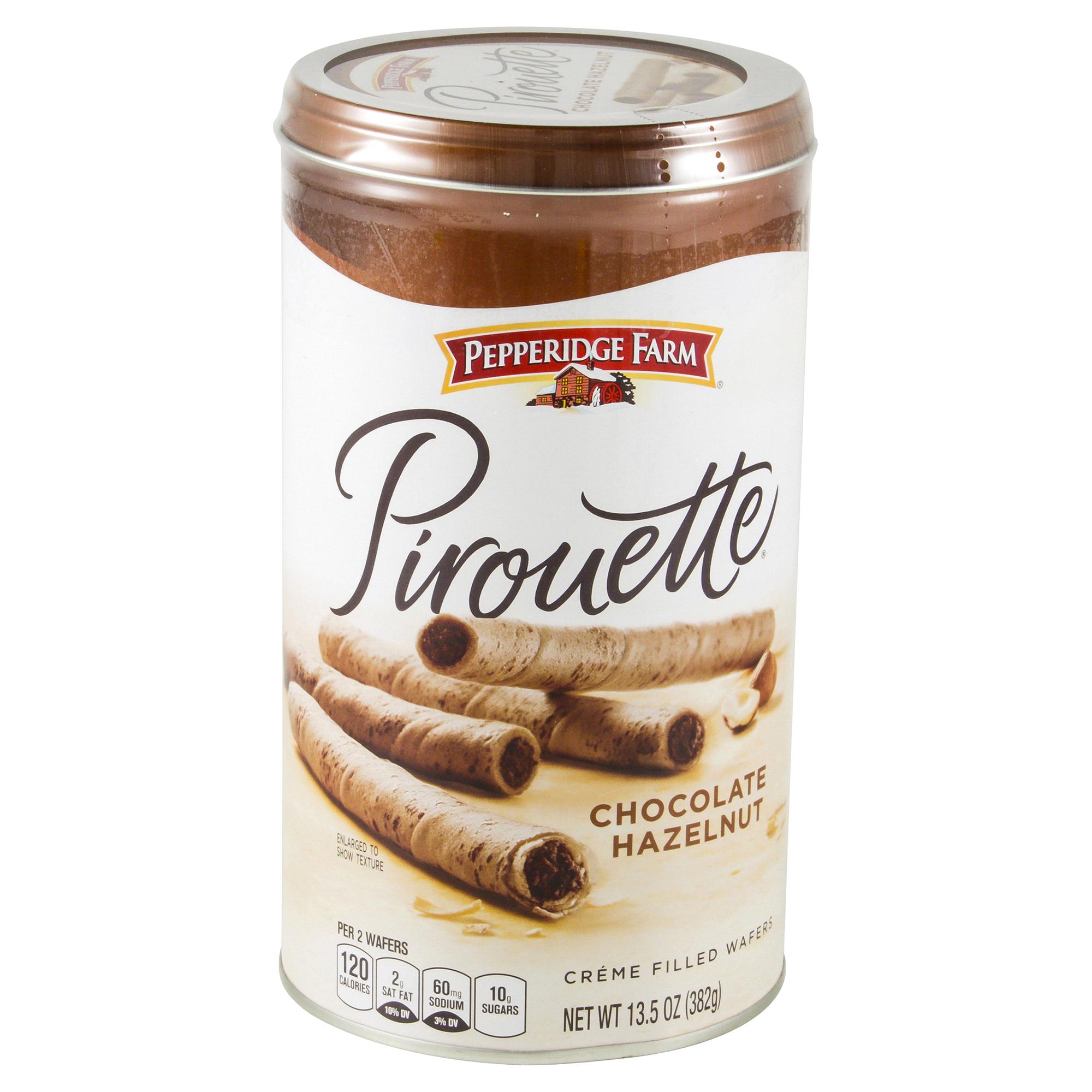 Pepperidge Farm Pirouette Rolled Wafers Chocolate Hazelnut 13.5 Oz |  Meijer.com