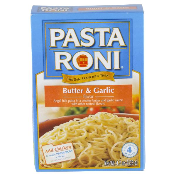 Pasta Roni Er Garlic Angel Hair 4 7 Oz