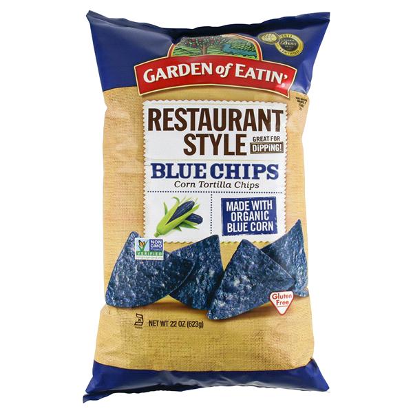 Garden Of Eatin Blue Tortilla Chips 22 Oz
