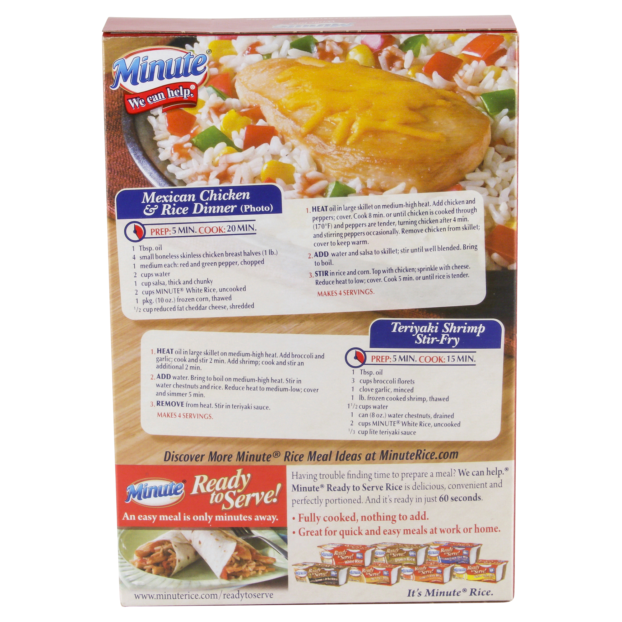Minute White Rice 14 oz | Meijer.com