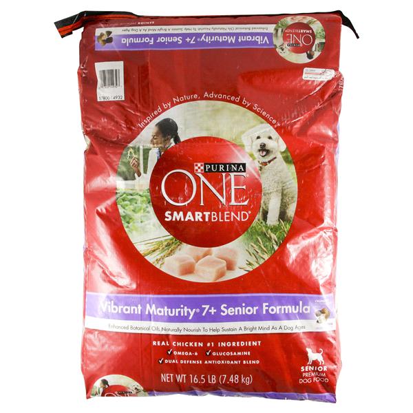 Purina One Smartblend Dog Food Vibrant Maturity 7 Senior W Chicken
