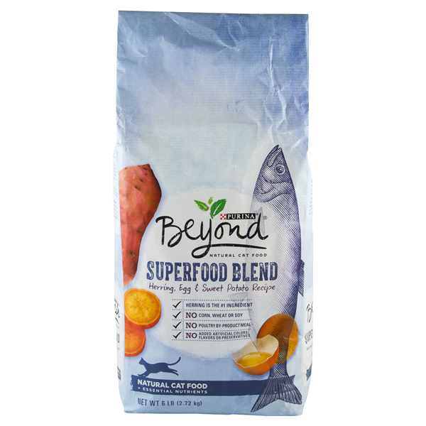 Purina beyond superfood blend herring egg sweet potato recipe cat purina beyond superfood blend herring egg sweet potato recipe cat food 6 lb forumfinder Image collections