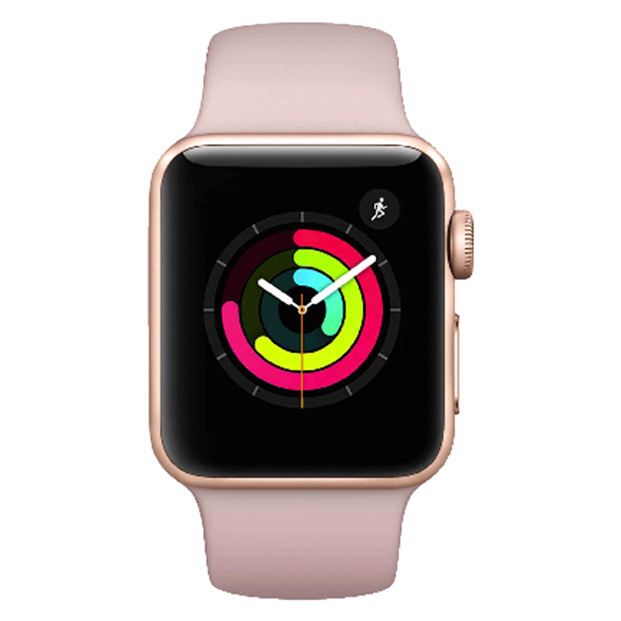 Wearable Technology Fitbit Alta Plum Size Large Apple Watch Series 3 Gps 38mm Gold With Pink Sport Band
