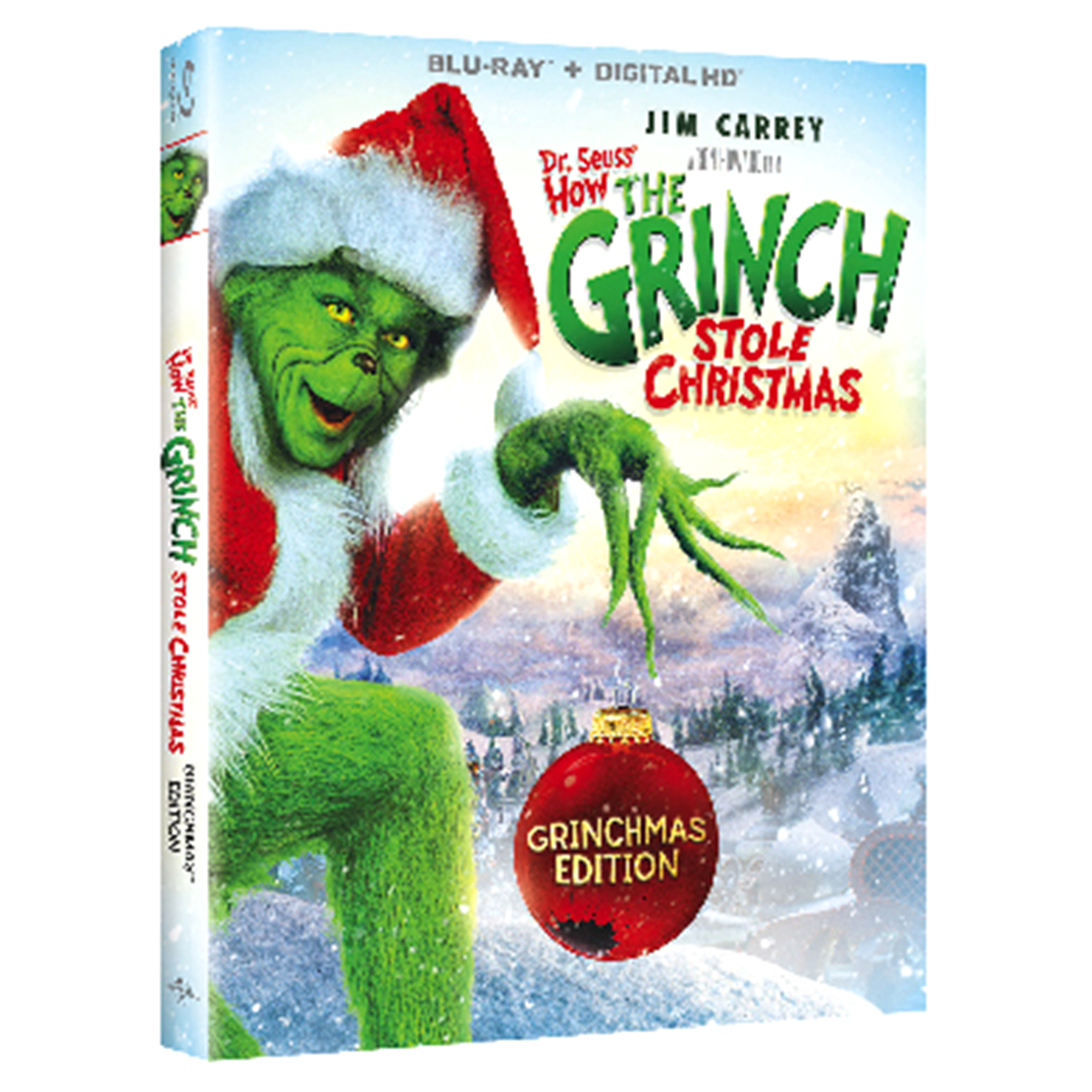 Dr seuss how the grinch stole christmas blu ray digital png 2000x2000 Cel  stole christmas character 065214ead