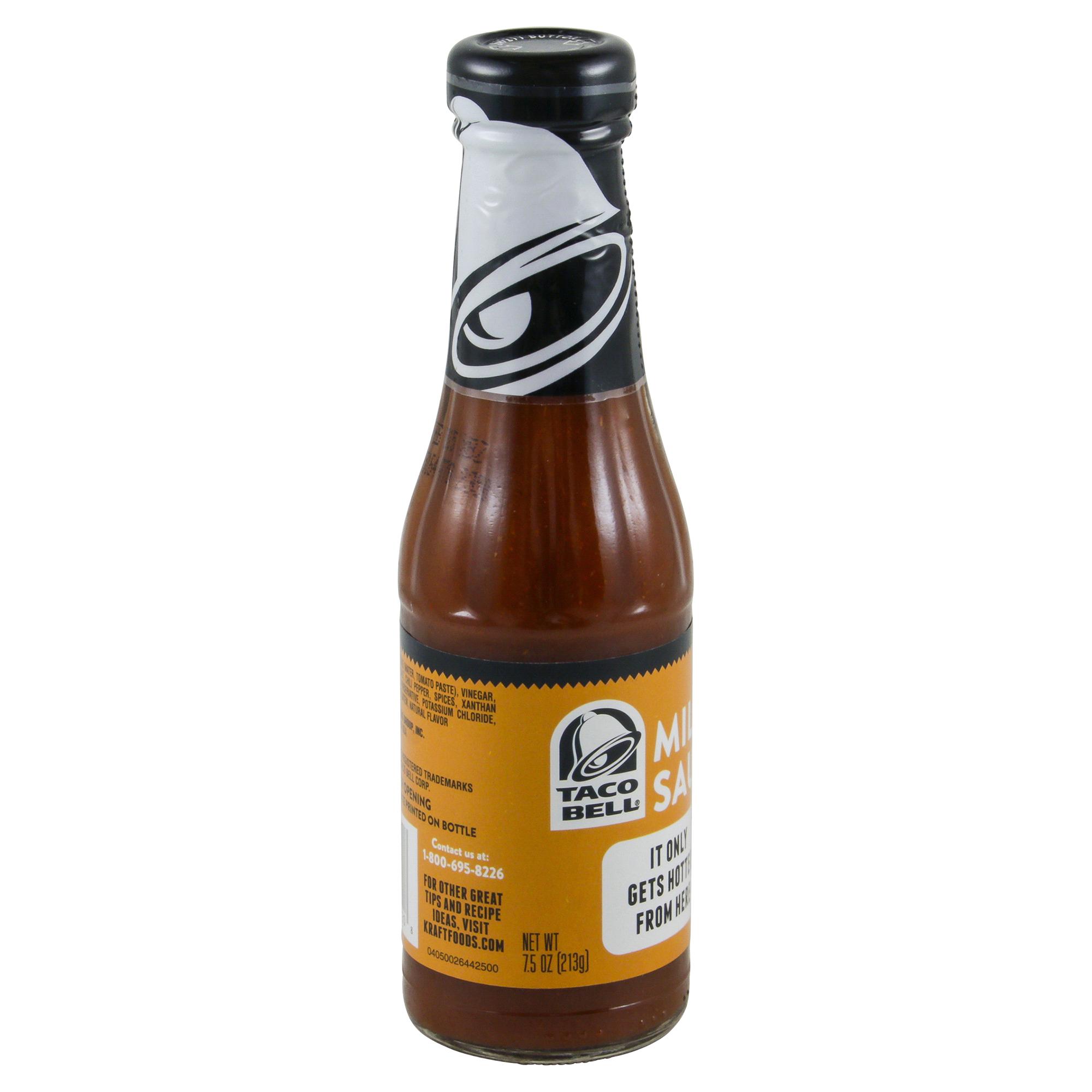 Taco Bell Mild Sauce 7.5 oz Bottle | Meijer.com
