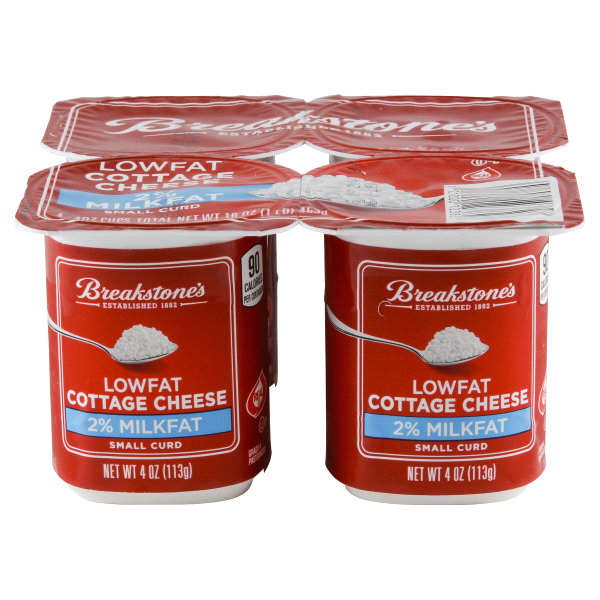breakstones cottage cheese 2 small curd 4 pack meijer com