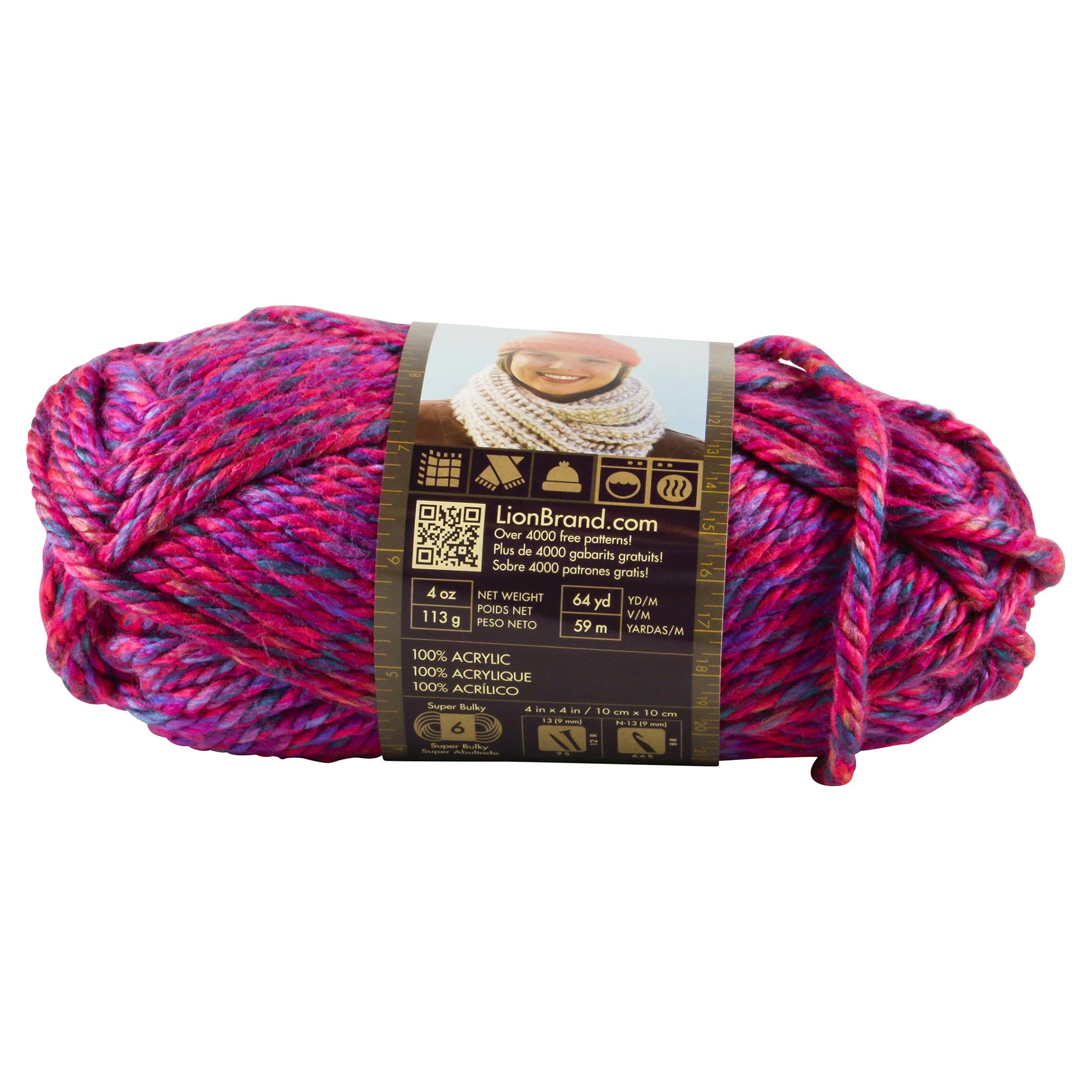 Lion Brand Yarn Hometown Usa 135 208 Phoenix Azalea 4 Oz Meijer