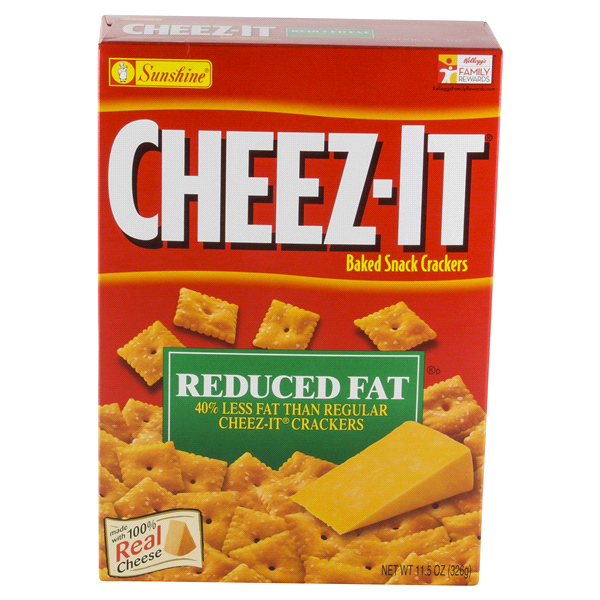 sunshine cheez it original reduced fat snack crackers 11 5 oz