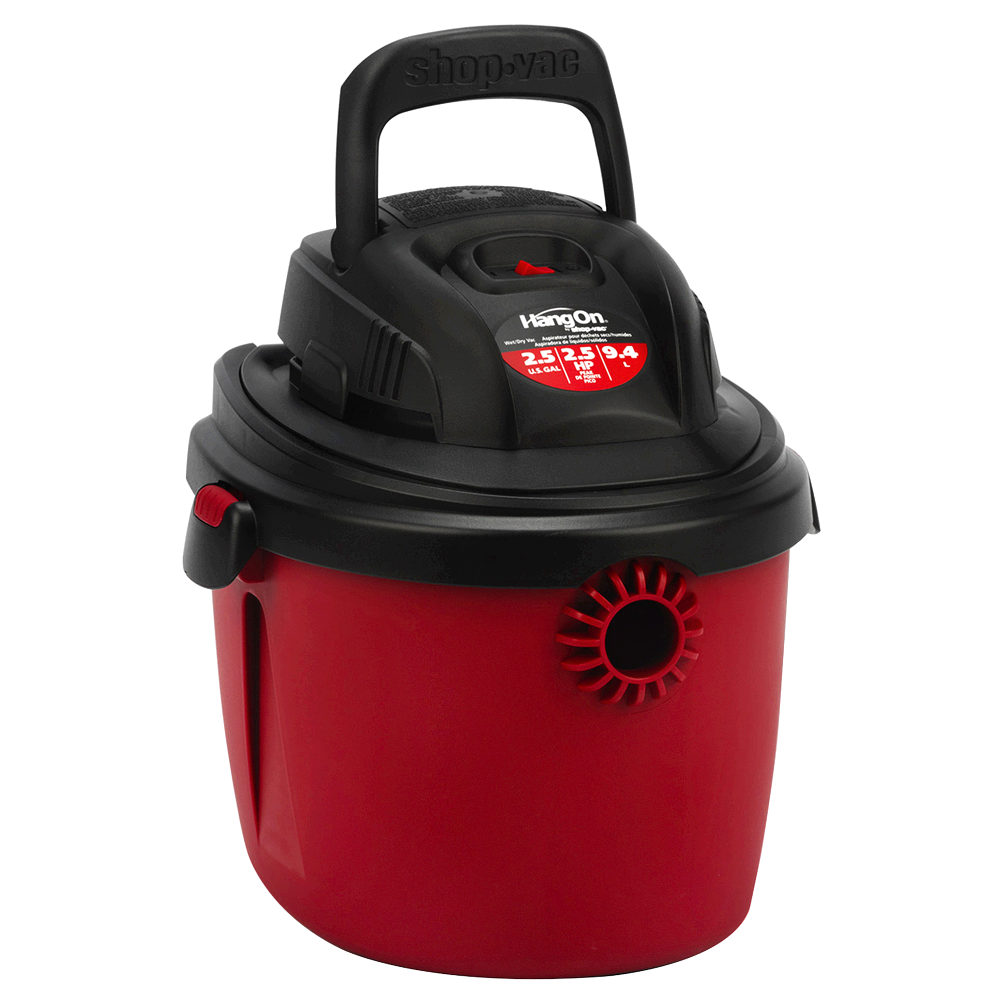 Shop Vac Hang 2 5 gallon 2 5 Peak HP Wet Dry Vacuum