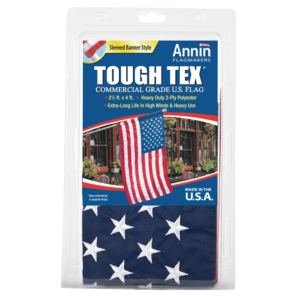 Annin 25 x 4 tough tex us american banner style flag meijer annin 25 x 4 tough tex us american banner style flag publicscrutiny Image collections