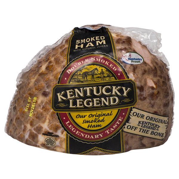 Kentucky Legend Original Smoked Ham Fully Cooked Half Meijer
