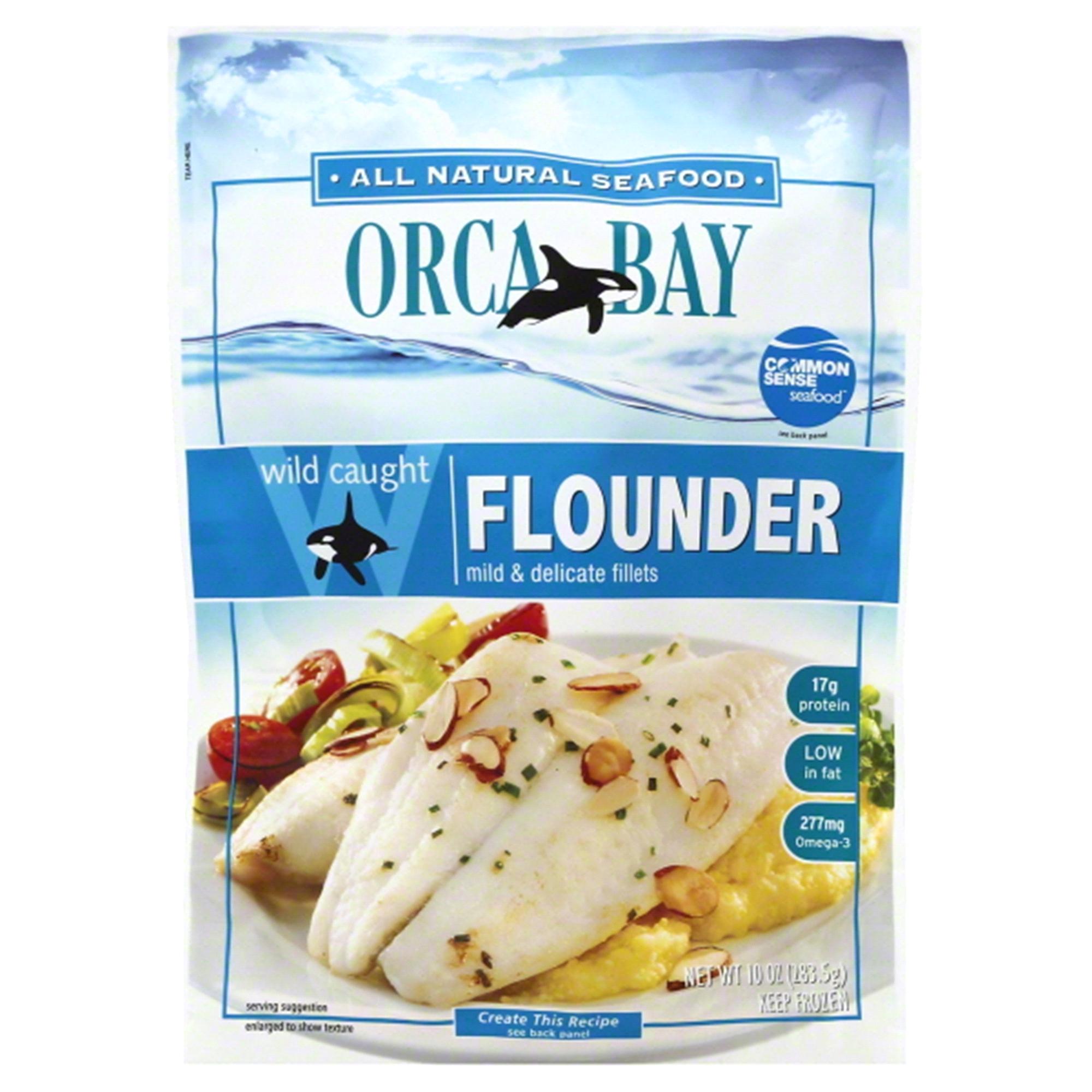 Orca Bay Wild Caught Flounder 10 oz | Meijer.com