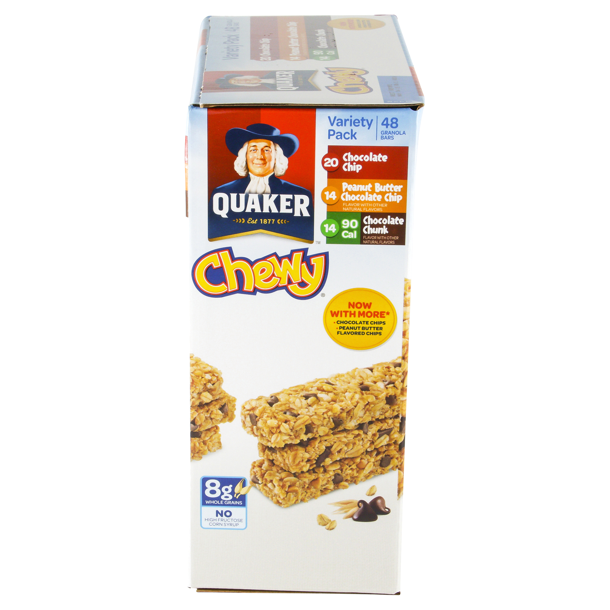 quaker chewy granola bars variety pack 48 count | meijer