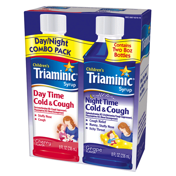 Triaminic Cough Cold Daynight Combo Pack Meijercom