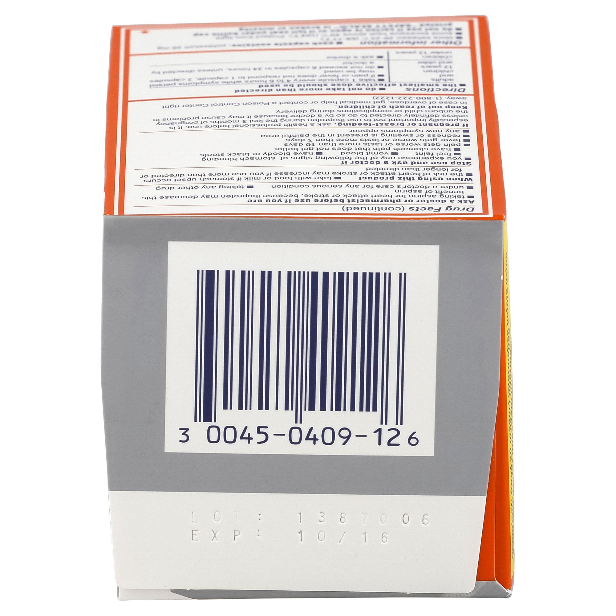 Motrin IB Ibuprofen Liquid Gel 120 Count | Meijer.com