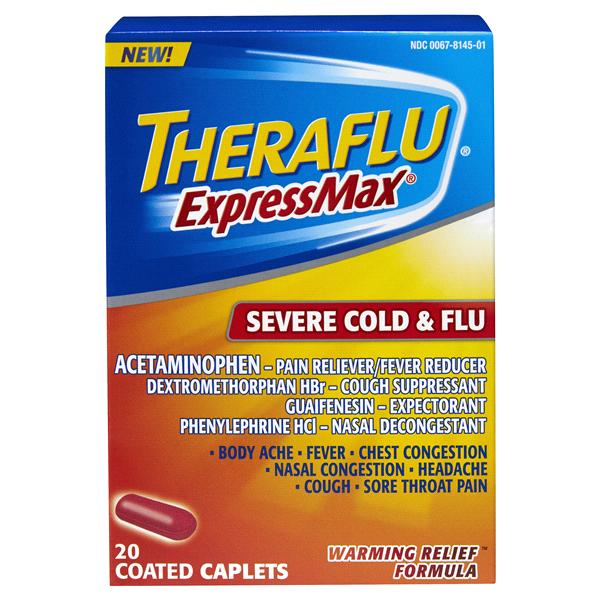 Theraflu Ex Max Severe Cold Flu Caplets 20 Ct Meijer
