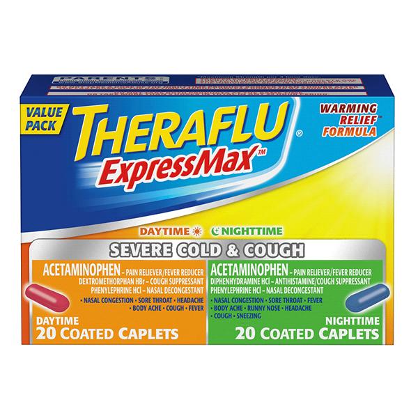 Theraflu Expressmax Serve Cold Cough Combo 40 Ct Meijer