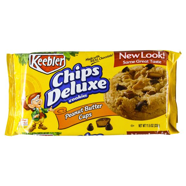 keebler chips deluxe peanut butter cookies 11 6 oz meijer com