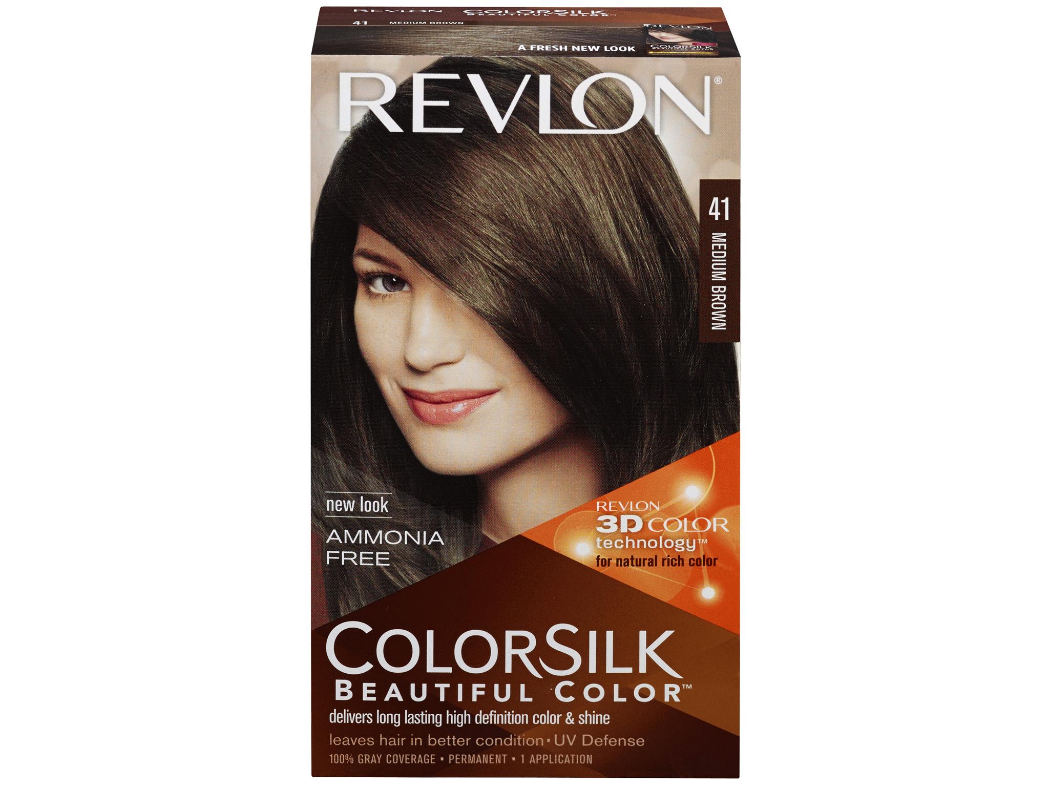 Revlon Color Silk Medium Brown 41 1 Application Meijer