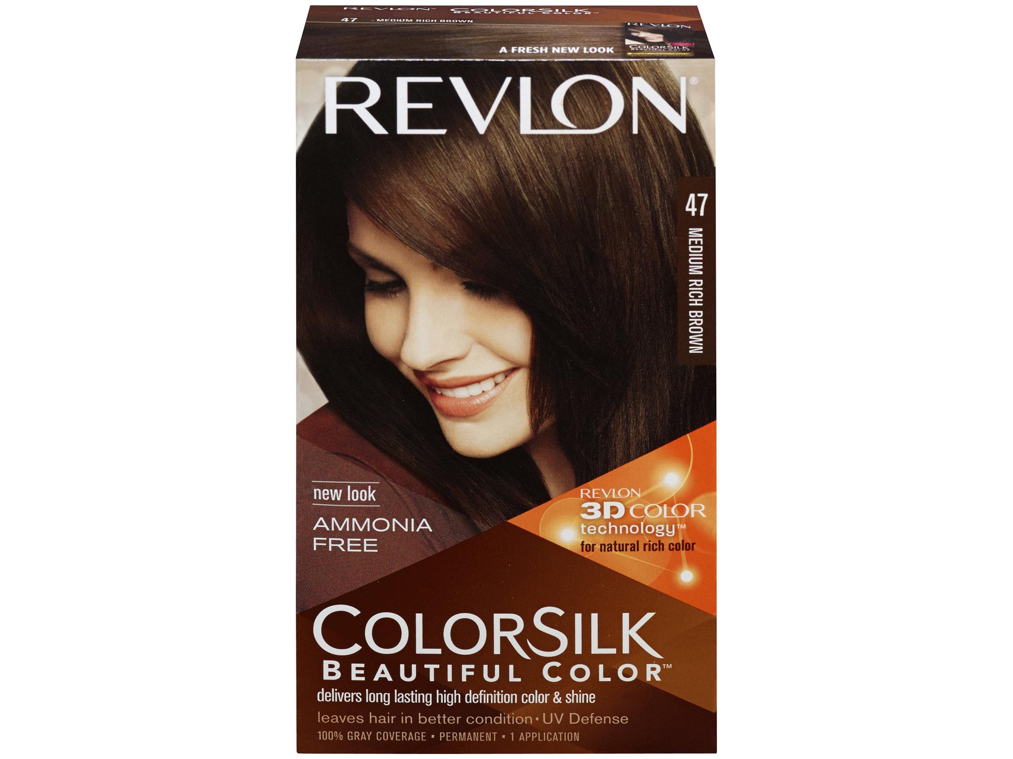 Revlon Colorsilk Beautiful Color Permanent Haircolor Medium Rich