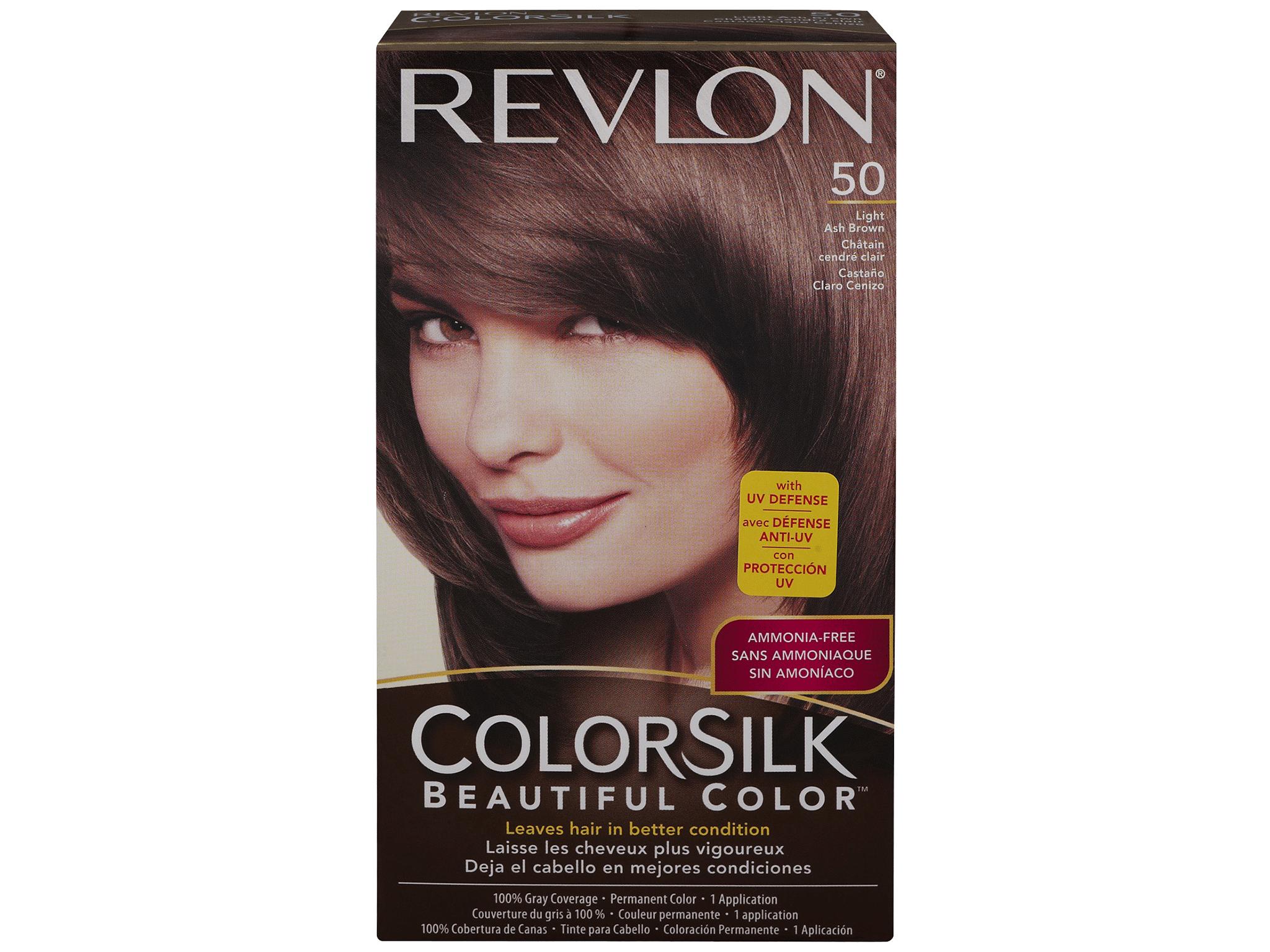 Revlon Colorsilk Beautiful Color Permanent Haircolor Light Ash Brown