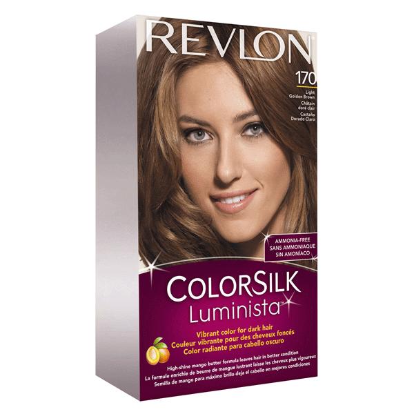 Revlon ColorSilk Beautiful Color Permanent Haircolor Light Golden Brown