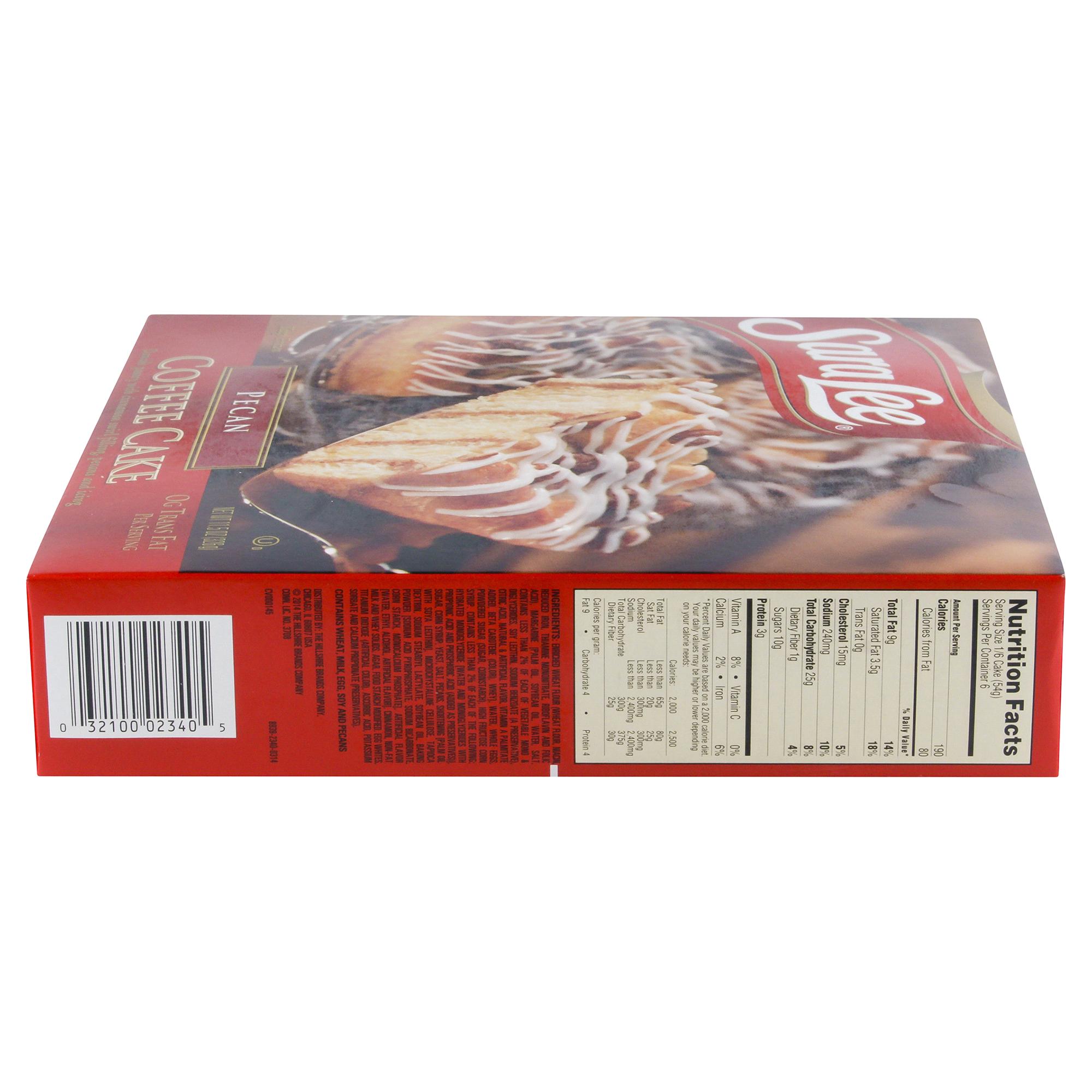 Sara Lee Coffee Cake Pecan 11.5 oz  32692b63d