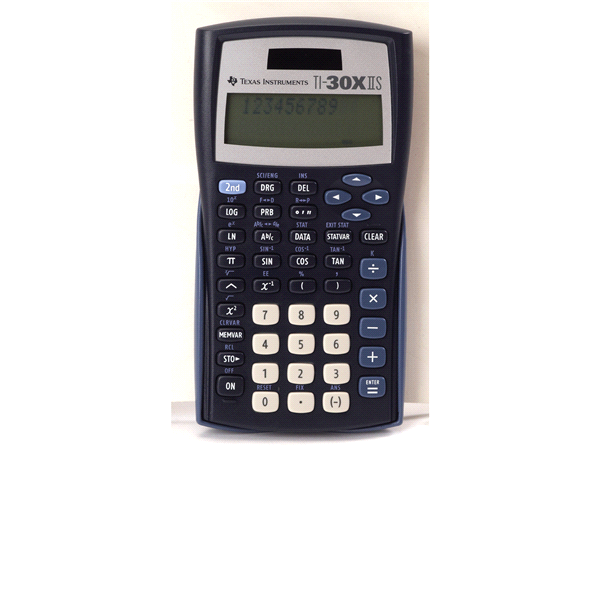Texas Instruments TI 30XIIS Scientific Calculator   Meijer.com