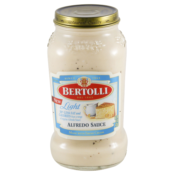 Bertolli Light Alfredo Sauce 15 Oz