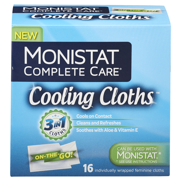 Monistat Complete Care Cooling Clothes 16 Ct Meijer