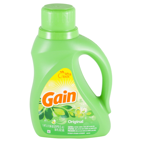Gain Original Liquid Laundry Detergent 50 Oz
