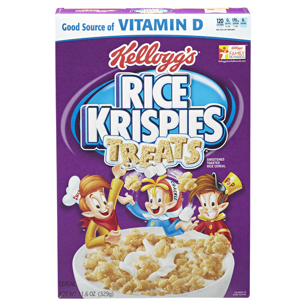 Rice Krispies Treats Cereal Nutrition Facts
