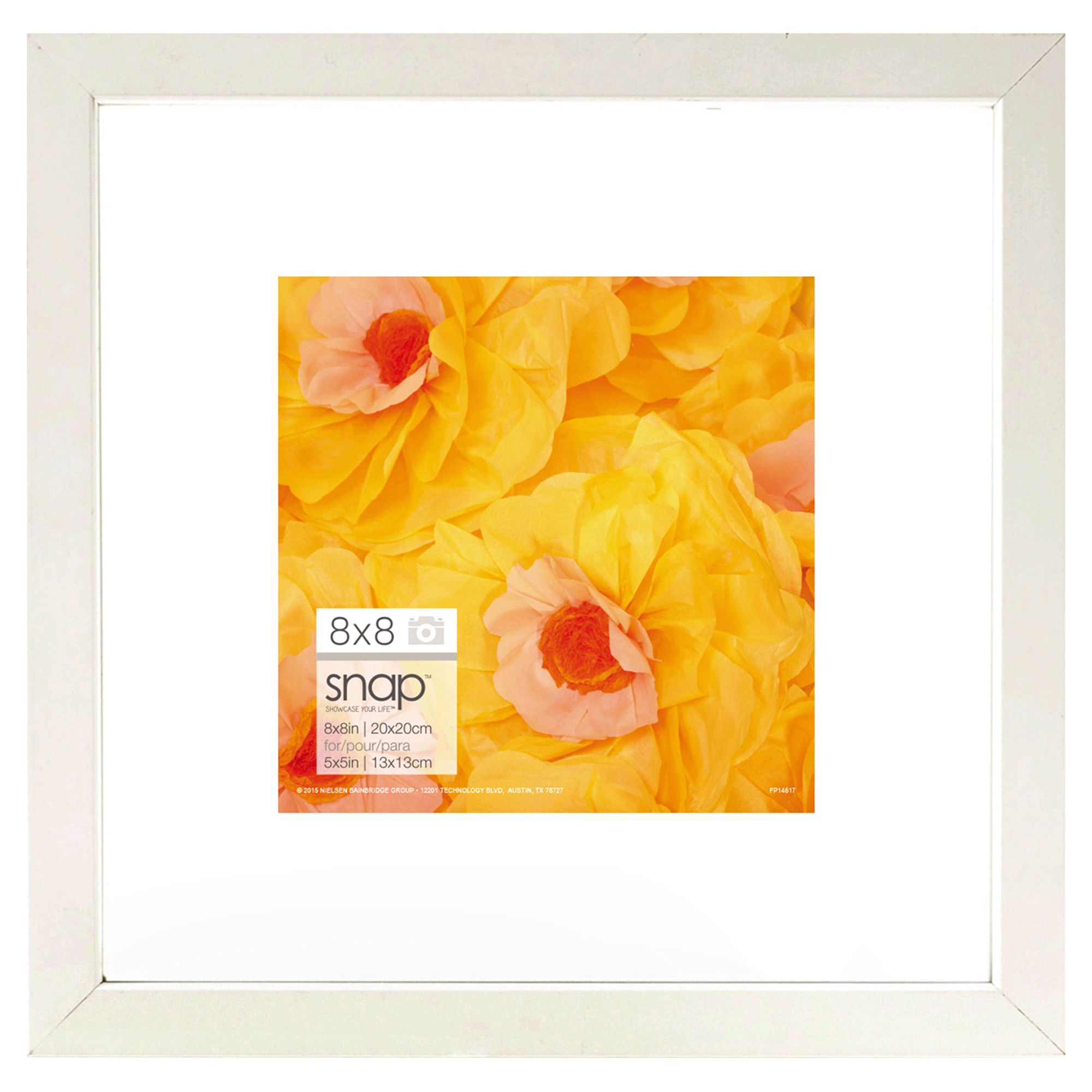 Snap 8 x 8 White Floating Frame | Meijer.com