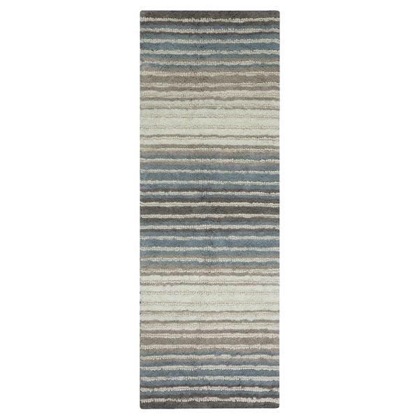 mohawk bath rug watercolor neutral blue 22 x 60 | meijer