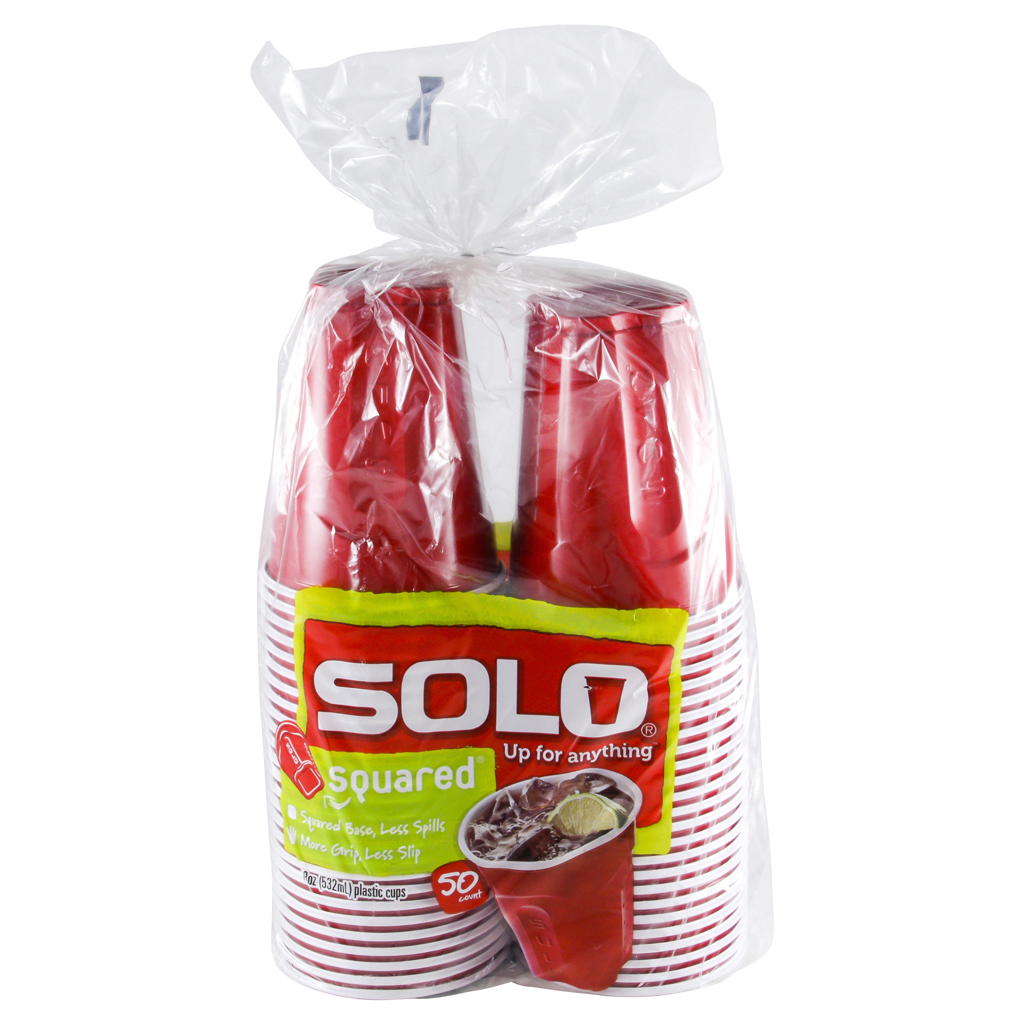 sc 1 st  Meijer & SOLO SQUARED 18 ounce Plastic Cup 50 Count | Meijer.com