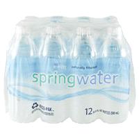 263b15efcb537 Meijer Spring Water 12 pack 16.9 oz bottles